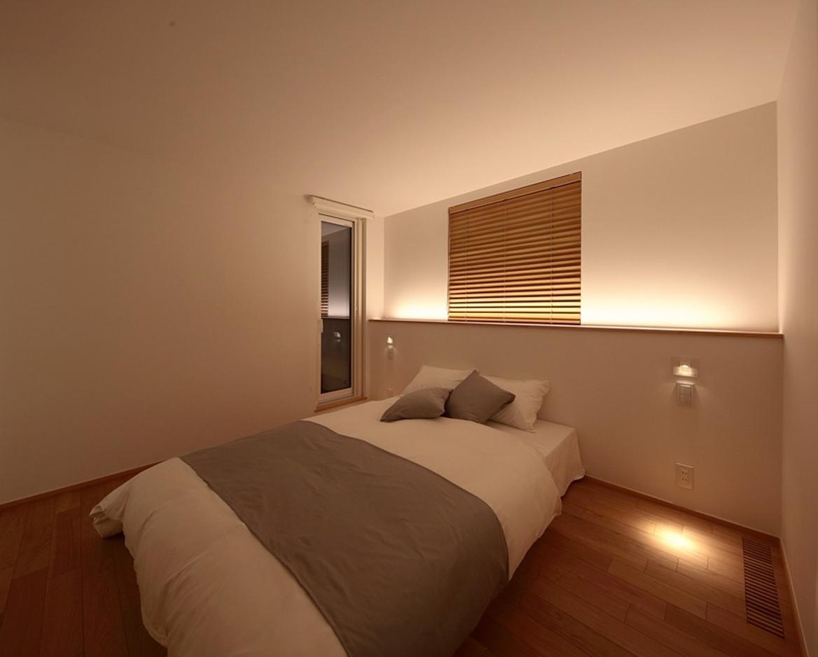 寝室 リラックス空間のデザイン 重量木骨の家 選ばれた工務店と建てる