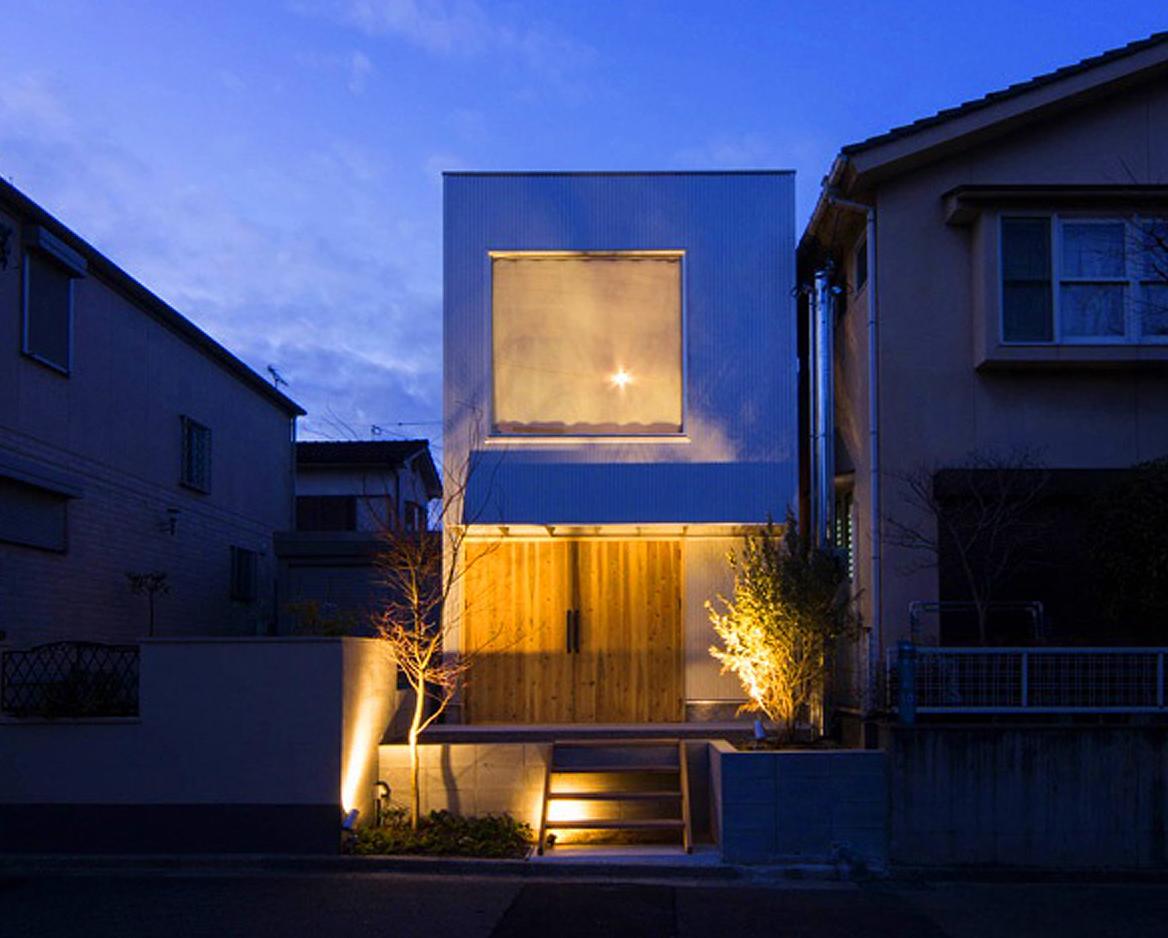 狭小住宅の外観デザイン
