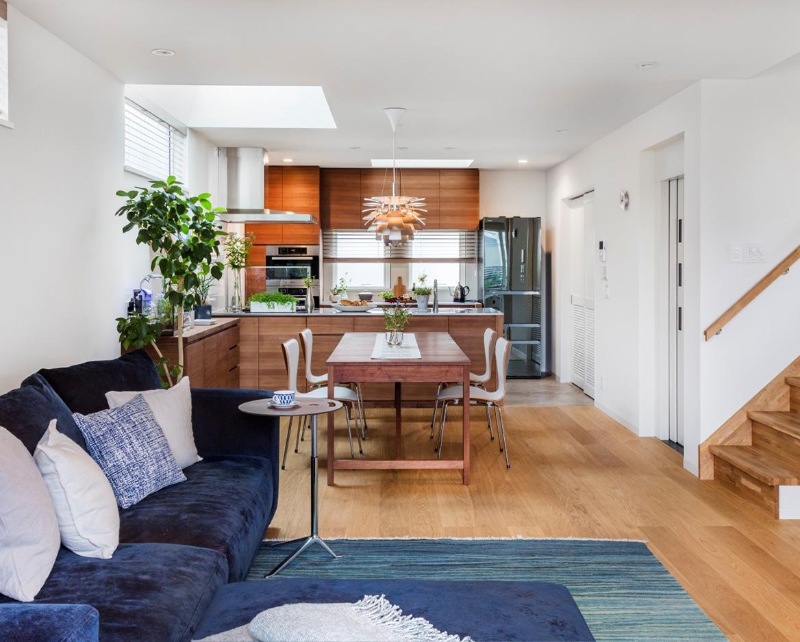 狭小住宅のリビングデザイン