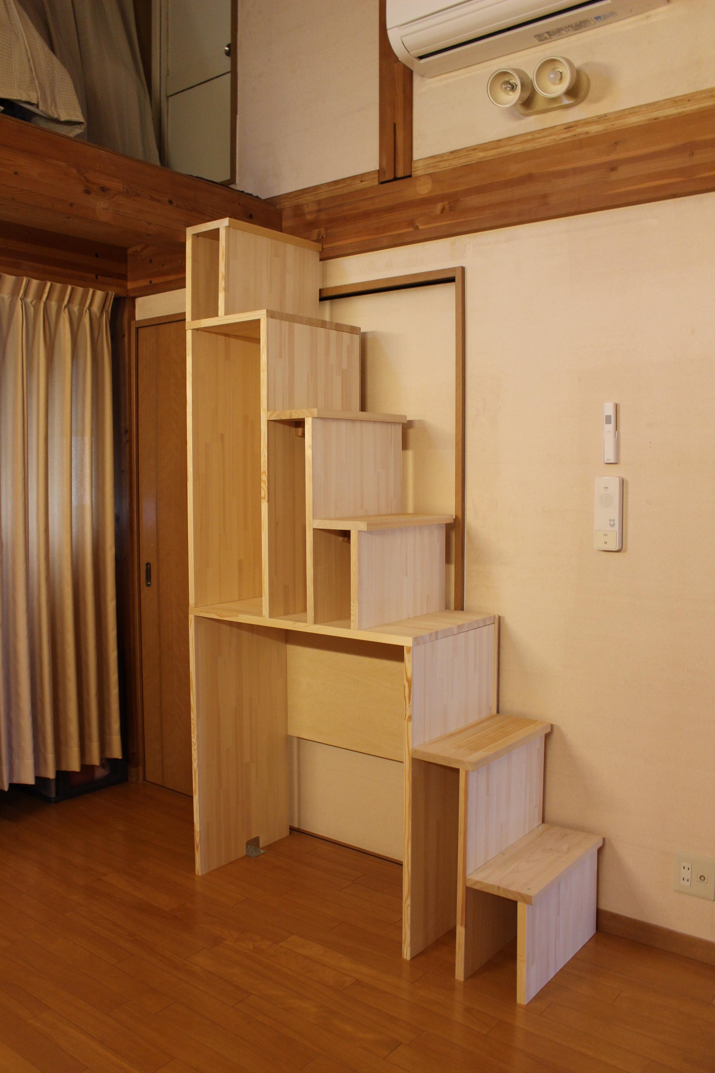 はしごの作り方