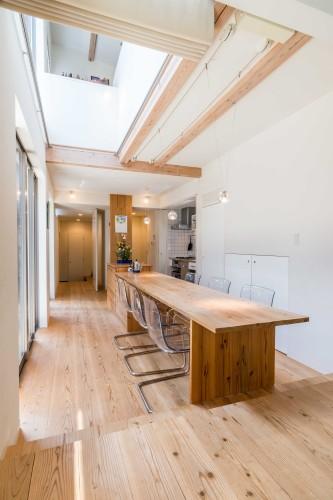 快適に住む工夫の詰まった木の家