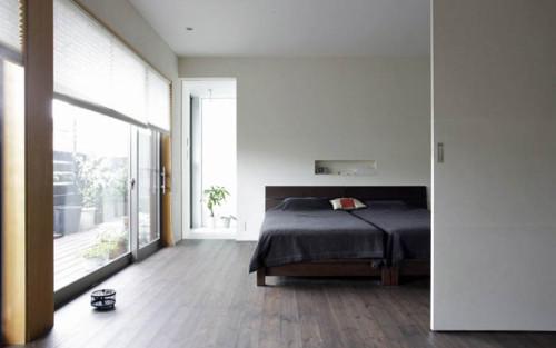 寝室デザインと間取り