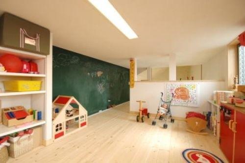 小さい子供達の遊び場として活用しているロフト