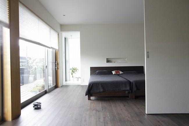 ベッドのサイズと設置場所をあらかじめ決める