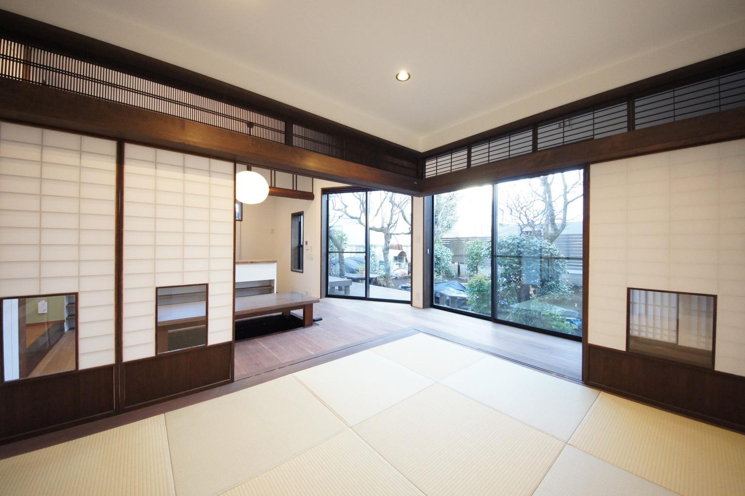 【二世帯住宅のコツ3】親世帯の居住スペースは、庭が望める一階に設ける
