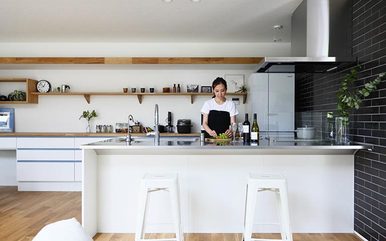 カウンターキッチンのデザイン