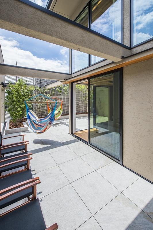 環境にも優しい屋上緑化は、都会のオアシス