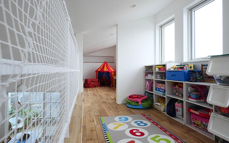 ロフトと子ども部屋