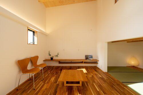 愛知県の注文住宅のリビング