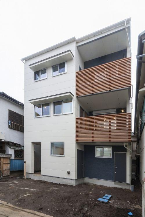 3階建てのおしゃれな賃貸併用住宅