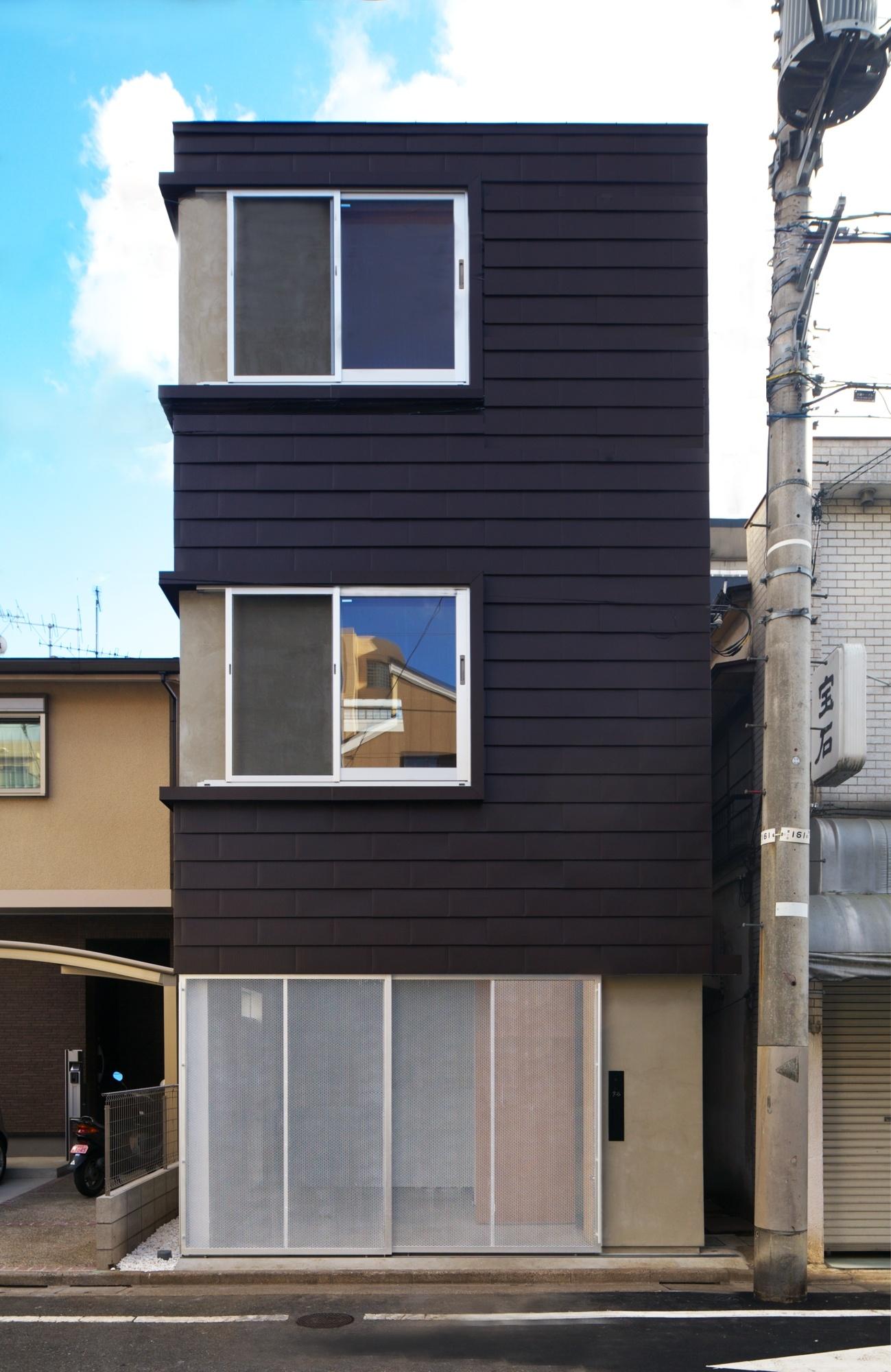 狭小住宅のガレージハウス