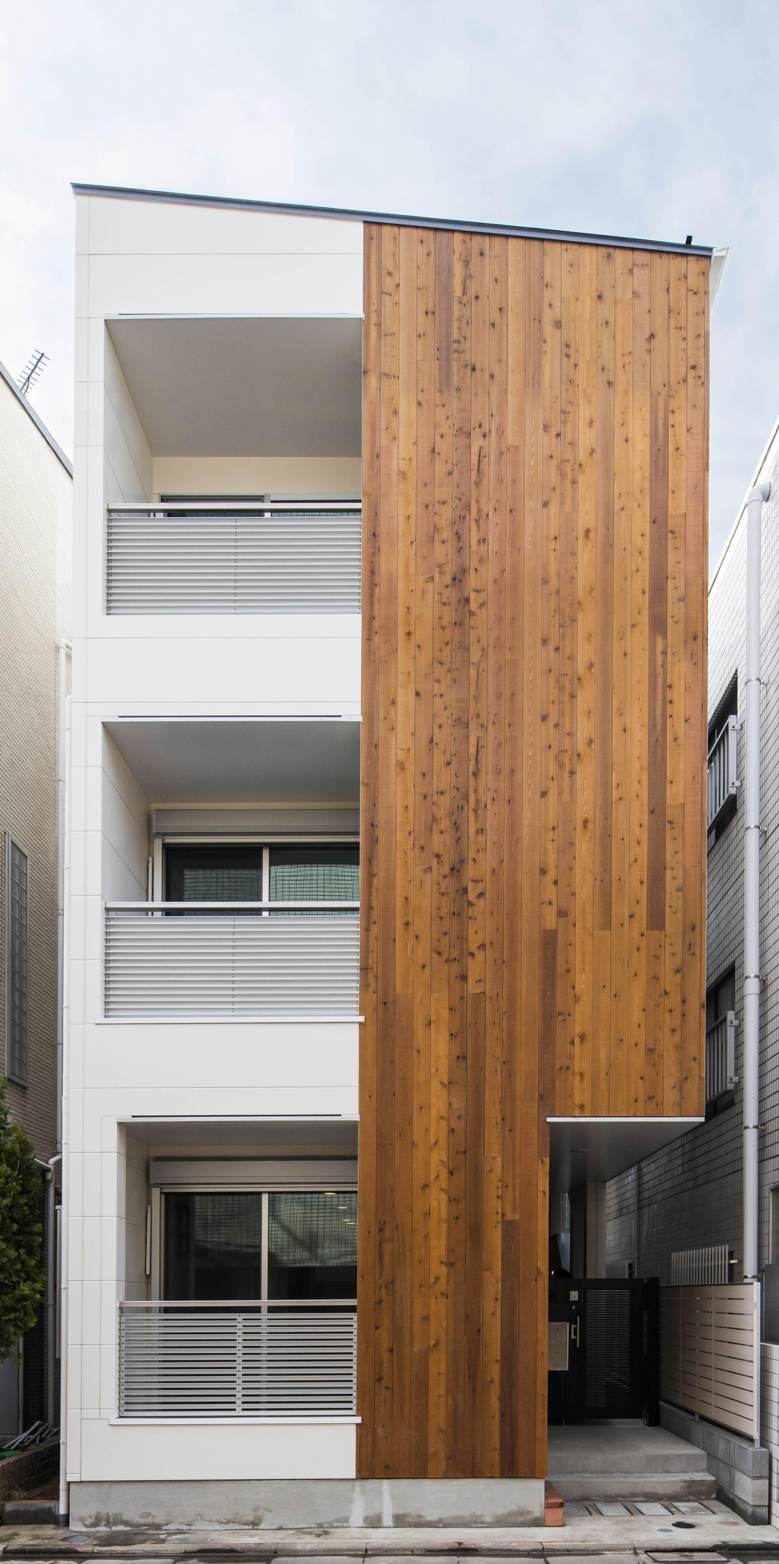 木造のおしゃれな賃貸併用住宅