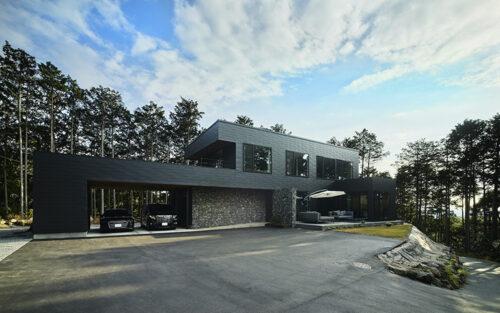 ガレージハウスのデザイン