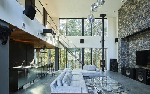 贅沢な豪邸のデザイン