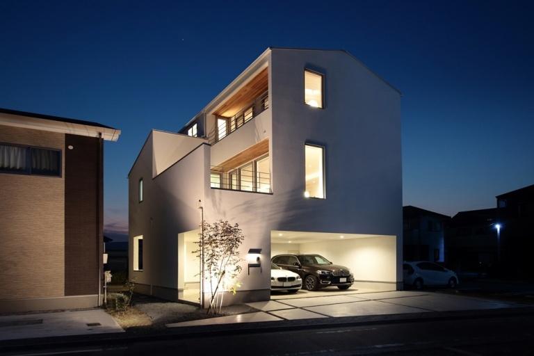 注文住宅の事例一覧 予算目安:4,000万円~ 重量木骨の家 選ば
