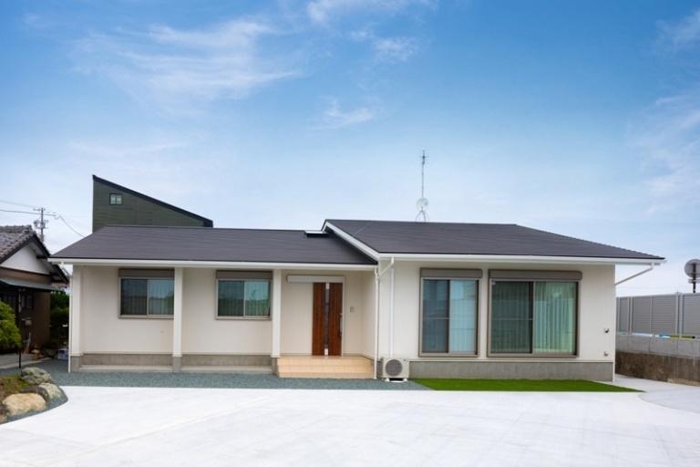 注文住宅の事例一覧 フリーワード:平屋|重量木骨の家 選ばれた工務店と建てる木造注文住宅