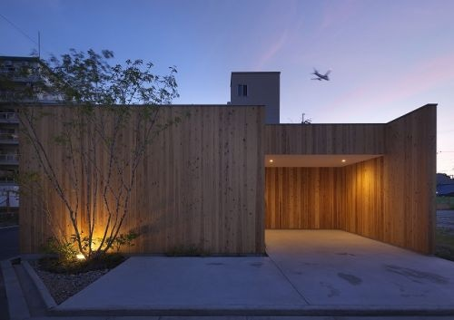 for Minimalist wooden house design